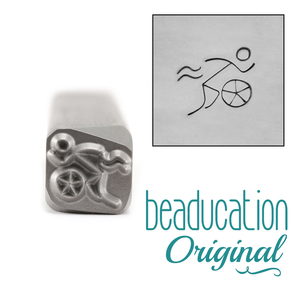 Metal Stamping Tools Triathlete Metal Design Stamp - Beaducation Original