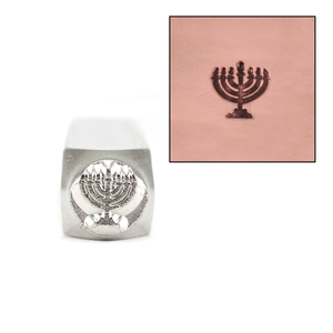Metal Stamping Tools Menorah Design Stamp 6mm by ImpressART