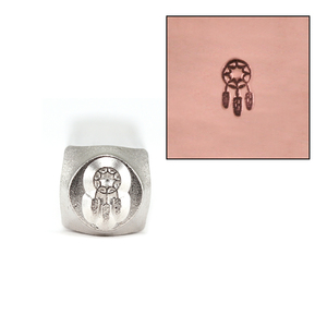 Metal Stamping Tools ImpressArt Dream Catcher Metal Design Stamp 6mm