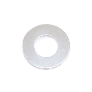 "Metal Stamping Blanks Aluminum Washer, 19mm (.75"") with 9.5mm (.38"") ID, 18g, Pack of 5"