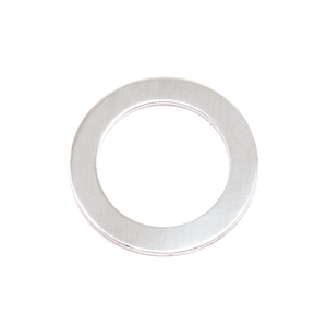 "Metal Stamping Blanks Aluminum Washer, 22mm (.87"") with 16mm (.63"") ID, 18g"
