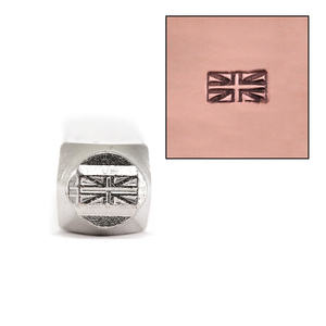 Metal Stamping Tools ImpressArt British Flag Metal Design Stamp