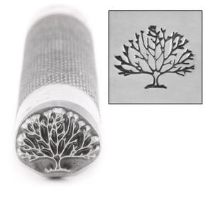 Metal Stamping Tools Advantage Series Tree Metal Design Stamp, 11mm