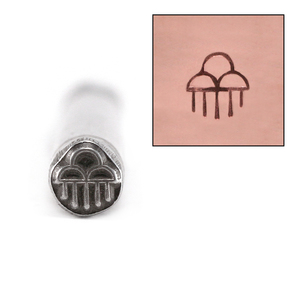 Metal Stamping Tools Native American Rain Cloud Design Stamp