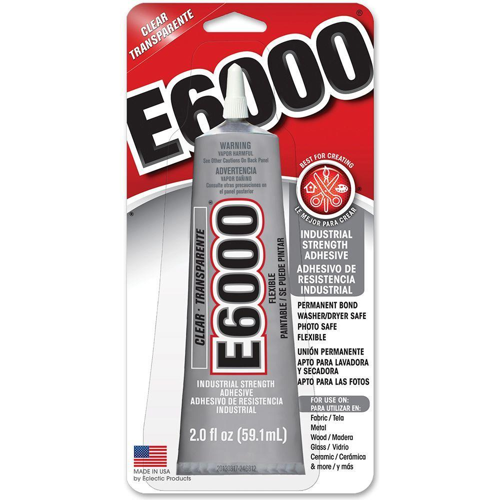 Enamel & Mixed Media E6000 Clear Glue - 2 ounces