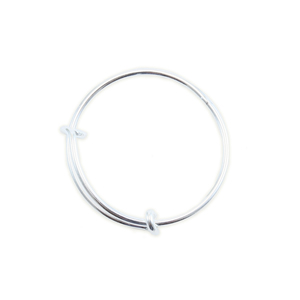 Metal Stamping Blanks Sterling Silver Expandable Wire Ring