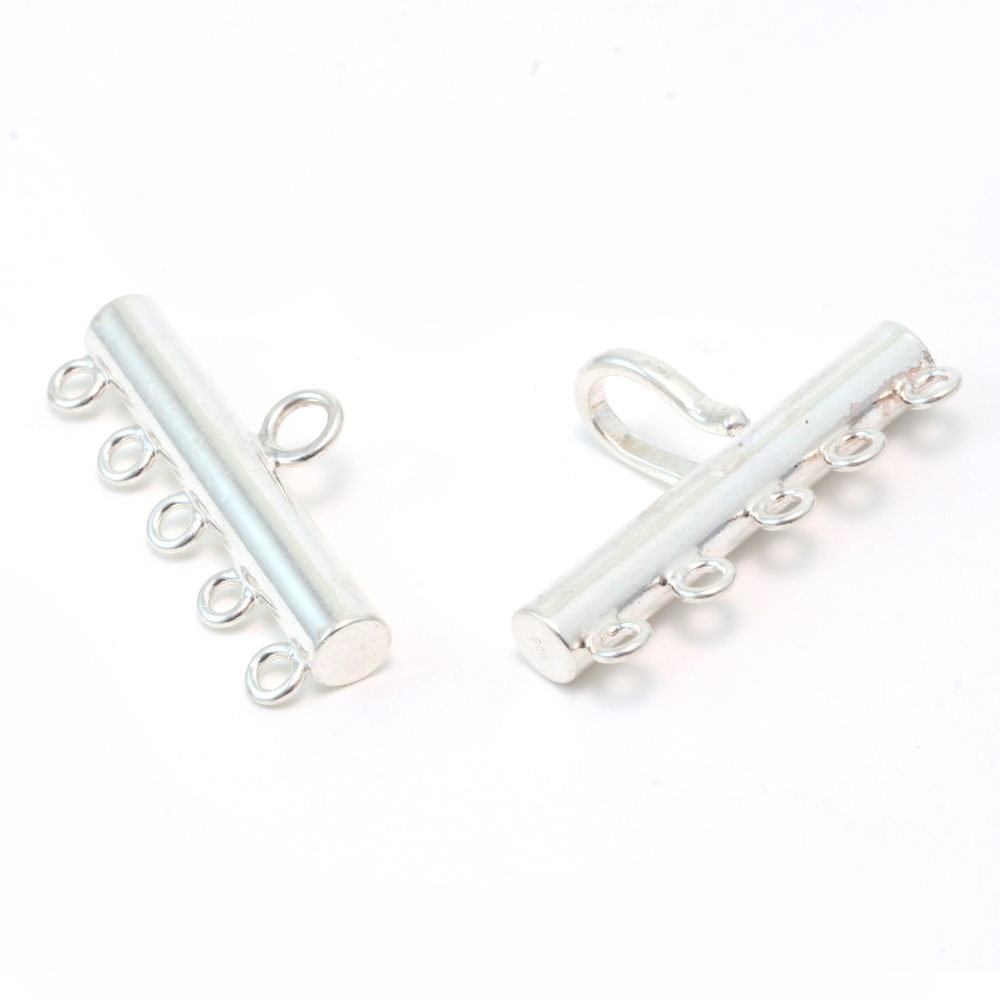 Chain & Clasps Sterling Silver Multistrand Clasp