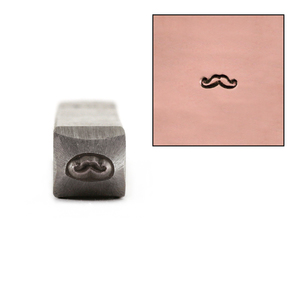 Metal Stamping Tools Mustache Design Stamp 4mm