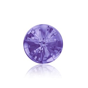 Arts & Entertainment > Hobbies & Creative Arts > Crafts & Hobbies Swarovski Crystal Sea Urchin Round Stone - Tanzanite 14mm