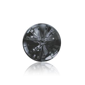 Crystals & Beads Swarovski Crystal Sea Urchin Round Stone - Silver Night 14mm