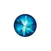 Swarovski Crystal Sea Urchin Round Stone - Bermuda Blue 14mm