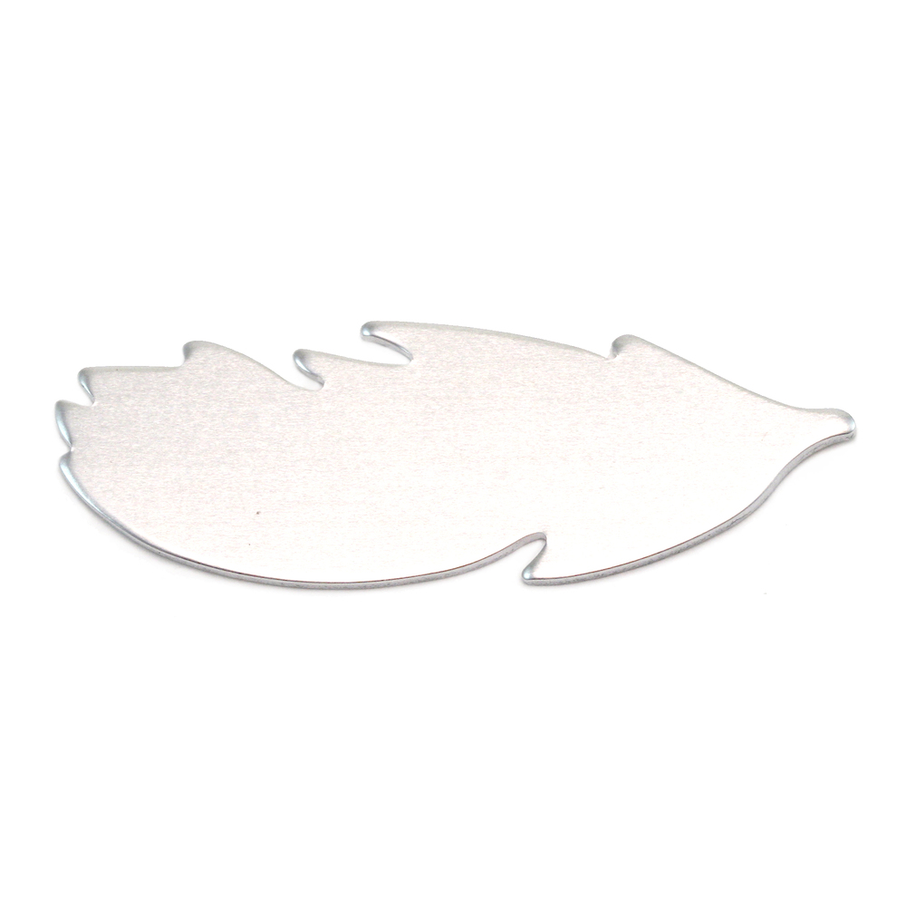Metal Stamping Blanks Aluminum Feather Blank, 18g