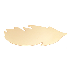 Arts & Entertainment > Hobbies & Creative Arts > Crafts & Hobbies Gold Filled Feather Blank, 24g