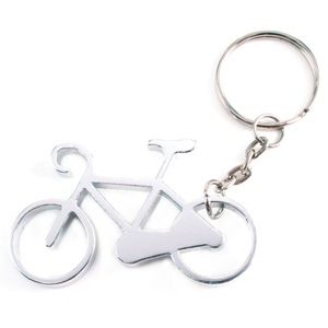 Metal Stamping Blanks Aluminum Bicycle Bottle Opener Keychain