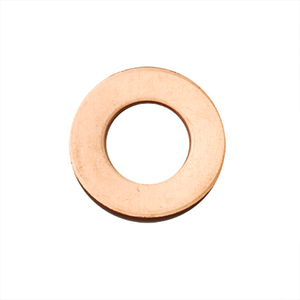 "Metal Stamping Blanks Copper Washer, 25mm (1"") with 13mm (.51"") ID, 18g, Pk of 5"