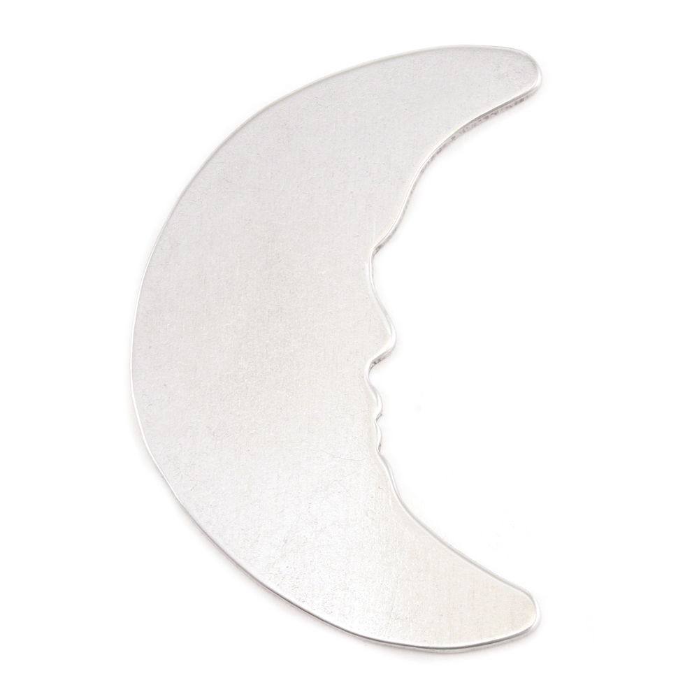 Metal Stamping Blanks Aluminum Man in the Moon Blank, 18g