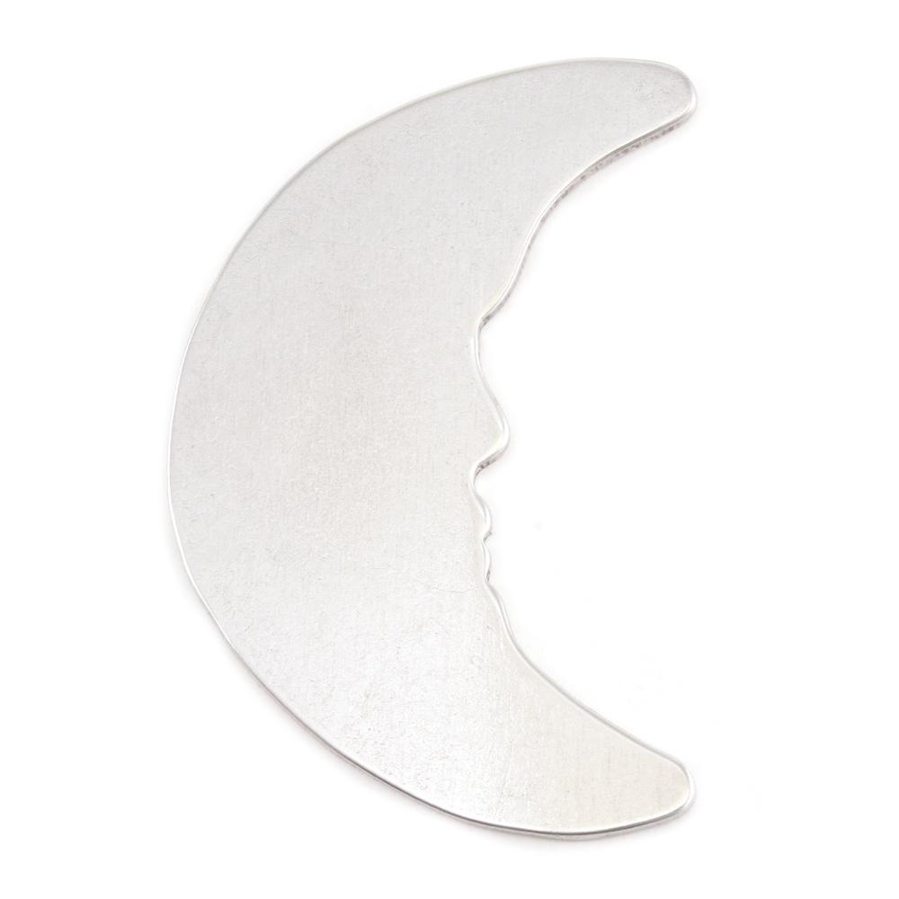 Metal Stamping Blanks Aluminum Man in the Moon Blank, 18g