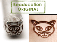 Metal Stamping Tools Cat Head Design Stamp - Beaducation Original