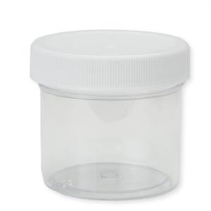 Jewelry Making Tools Medium Plastic Jar with Lid, 2 ounces
