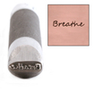 Advantage Series 'Breathe' Design Stamp Guaranteed on Stainless Steel