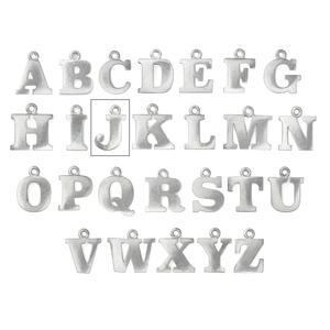 "Metal Stamping Blanks Pewter Letter J, 19mm (.75""), 16g"
