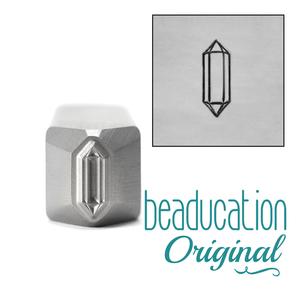 Metal Stamping Tools Faceted Crystal Metal Design Stamp, 10mm - Beaducation Original