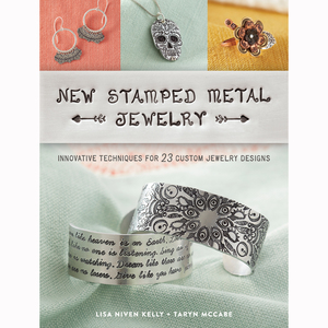 Books New Stamped Metal Jewelry Book by Lisa Niven Kelly and Taryn McCabe