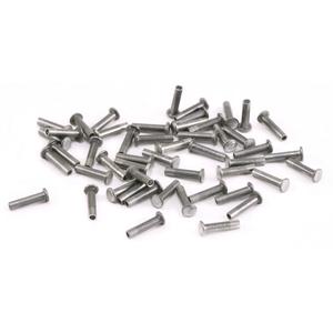 """Aluminum Hollow 1/16"""" Rivets 5/32"""" Long"""