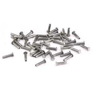 "Rivets,  Findings & Stringing Aluminum Hollow 1/16"" Rivets 3/16"" Long"