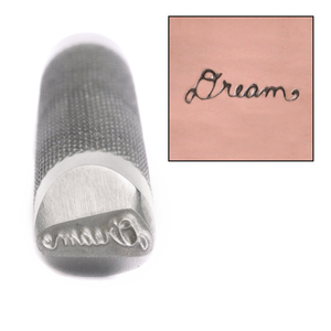 Metal Stamping Tools Advantage Series 'Dream' Metal Design Stamp Guaranteed on Stainless Steel