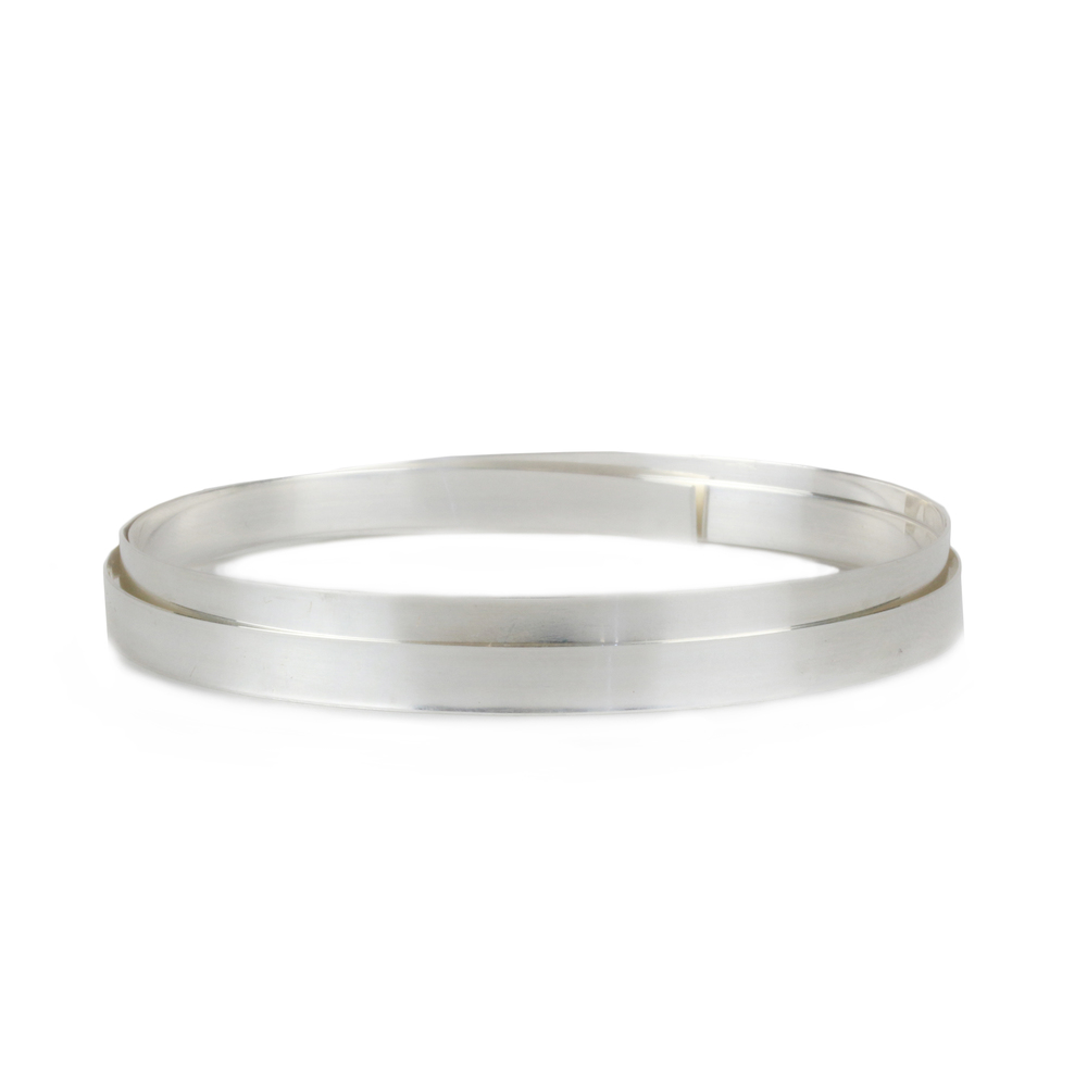 "Wire & Sheet Metal Fine Silver 4.8mm, 28g Bezel Wire, 24"" Length"