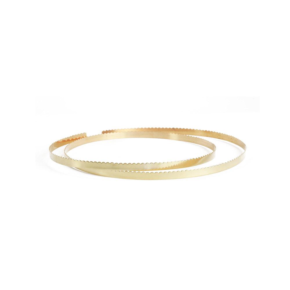 Wire & Sheet Metal 12K Gold Filled 3.2mm, 30g Scalloped Bezel Wire ...