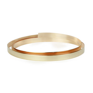 "Wire & Sheet Metal 14K Gold Filled 4.8mm, 30g Bezel Wire, 24"" Length"
