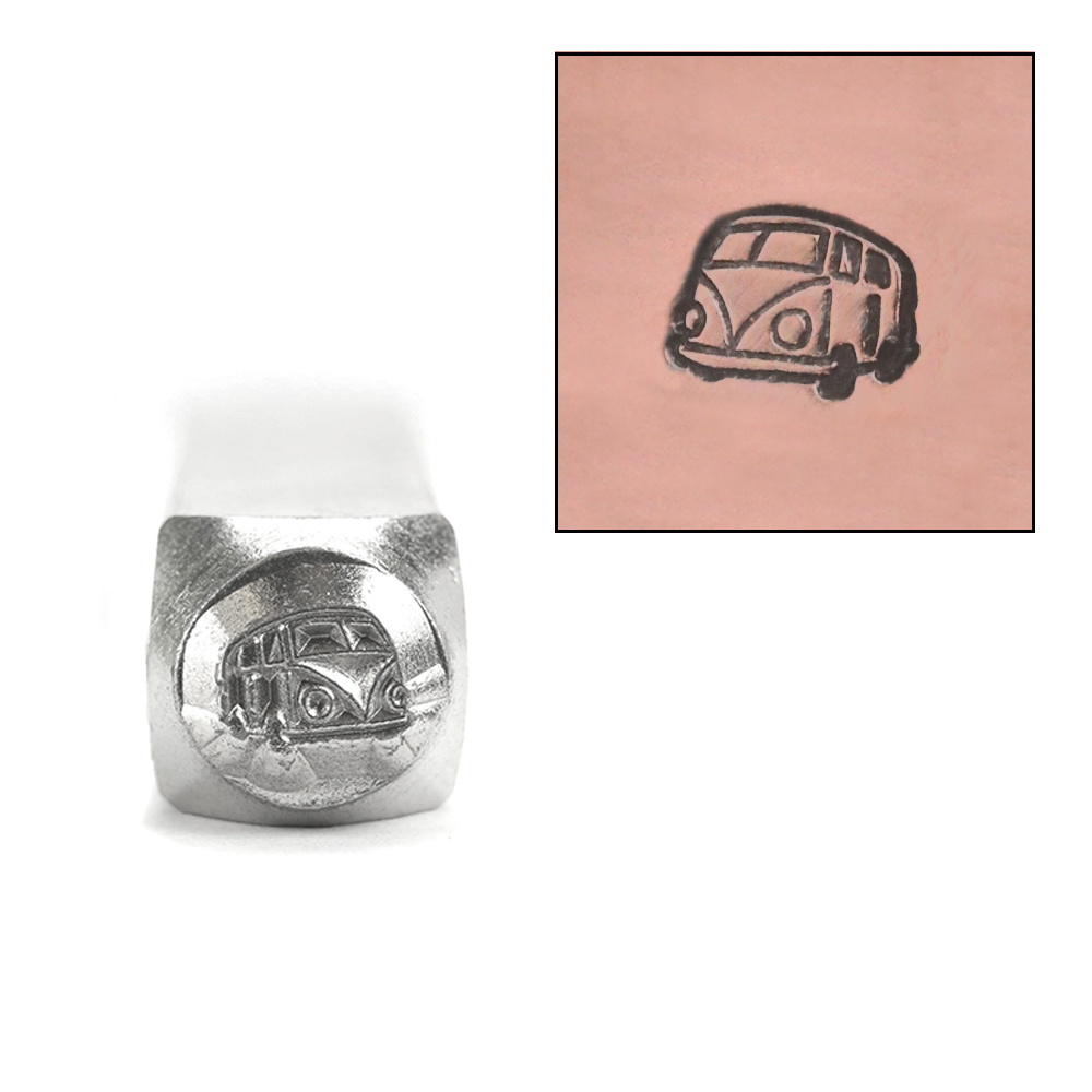 Metal Stamping Tools ImpressArt Bus Design Stamp, 6mm