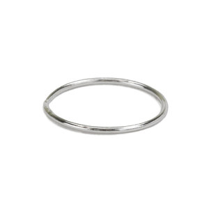 Metal Stamping Blanks Sterling Silver Stacking Ring, Size 6