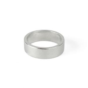 Metal Stamping Blanks Pewter Ring Stamping Blank, 6mm Wide,  SIZE 8