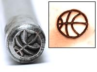 Metal Stamping Tools Basketball Design Stamp