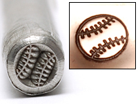 Metal Stamping Tools Baseball Design Stamp