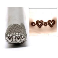Metal Stamping Tools Heart Border Design Stamp