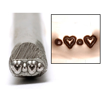 Metal Stamping Tools Heart Border Design Stamp