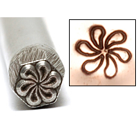Metal Stamping Tools Pinwheel Design Stamp