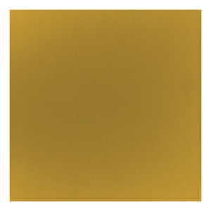 "Wire & Sheet Metal Anodized Aluminum Sheet, 6"" X 6"", 24g, Honey"