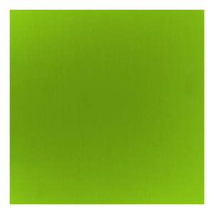 "Wire & Sheet Metal Anodized Aluminum Sheet, 6"" X 6"", 24g, Sour Apple"