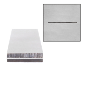 "Metal Stamping Tools Straight Liner Metal Design Stamp, 12.5mm (.5"")"