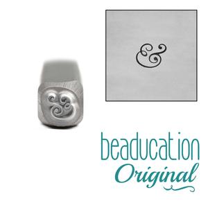 Metal Stamping Tools Ampersand Metal Design Stamp, 3.5mm - Beaducation Original