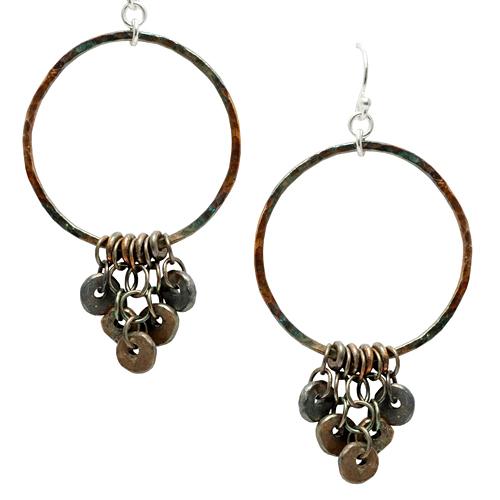Fused Scrap Earrings Online Class with Liz Jones