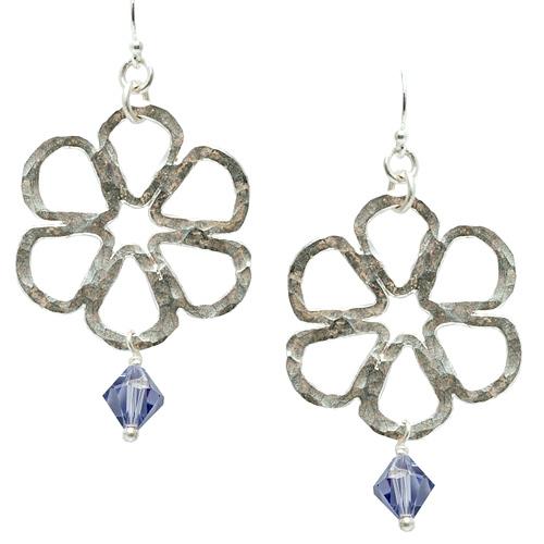 Fused Flower Earrings Online Class with Liz Jones