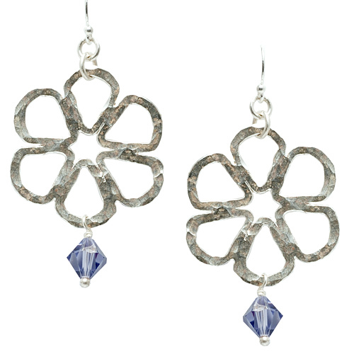 Fused Flower Earrings Online Class with Liz Jones