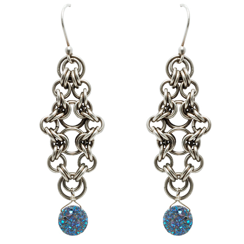 Bicycle Chain Earrings Online Class with Colin Mahler