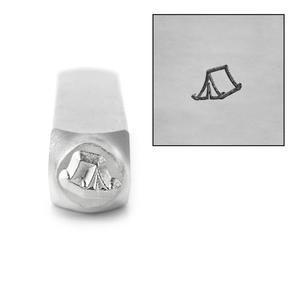 Metal Stamping Tools ImpressArt Tent Metal Design Stamp, 6mm